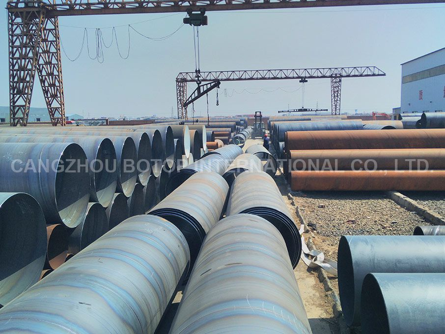 SSAW Spiral Welded Steel Pipe API 5L X52 PSL1/PSL2