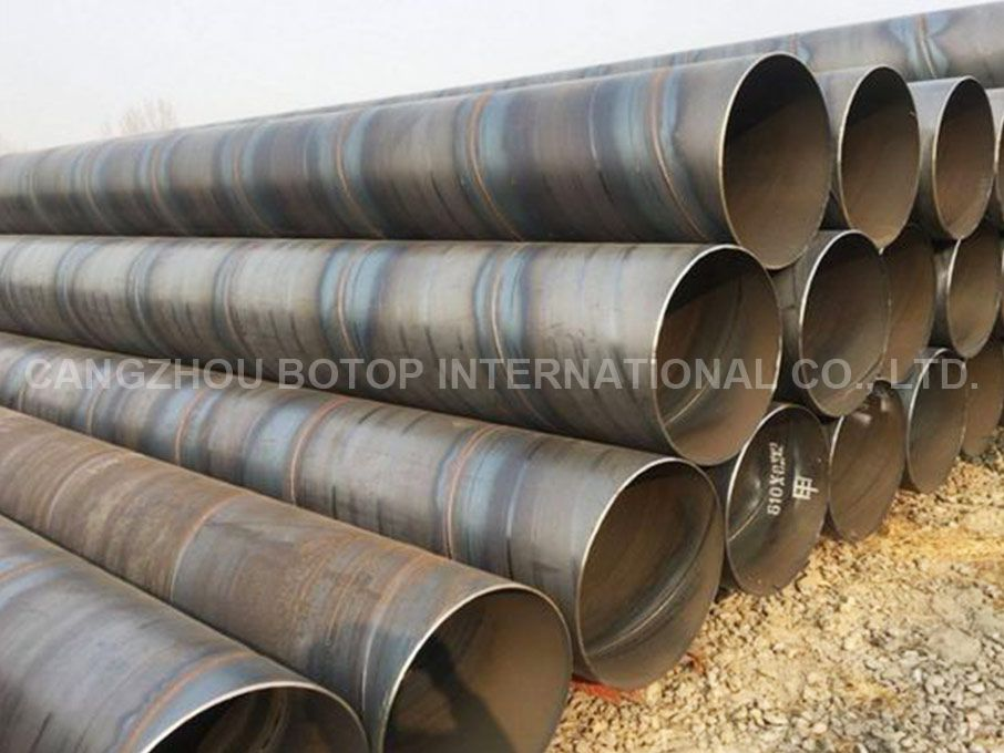 ASTM A252 GR.3 SSAW Steel Piles Pipe