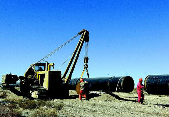 Project of Natural Gas Transmission from West to East